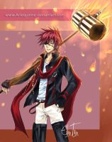 Lavi - D.Gray-man by Arlequinne