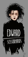 Edward ScissorHands by Michelkuchiki