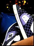 .dc shoes on fire. by purple-high