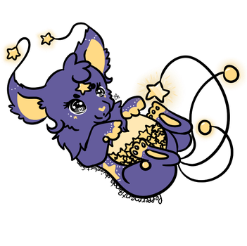.:Collab:. Adopted Starry Unapi by PeppermentPanda