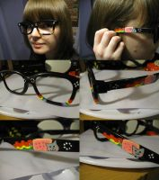 Nyan Cat Glasses by Frainy