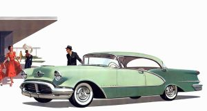 age of chrome and fins : 1956 Oldsmobile by Peterhoff3