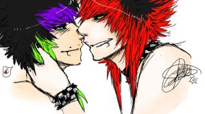 Sweeter than heaven // hotter than hell by Shark-Bites
