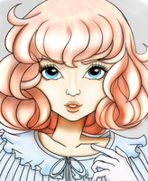 like a doll -colored by wiltedorchids