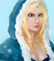 Crystal Maiden by molcray