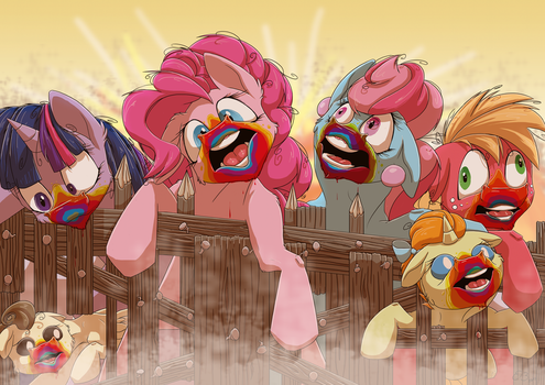 MLP Cookie Zombies by CodePepper