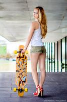 Longboard girl by gytis