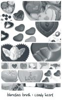 bluretina brush:candy heart by bluretina-stock