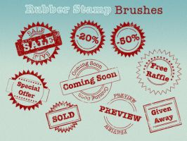 Rubber Stamp Brushes by Sirri-R-P