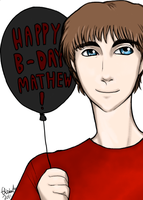 Happy B-Day Mathew by ThatDanishChick