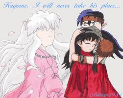 I Will Never Take His Place... by Aishiteru1984