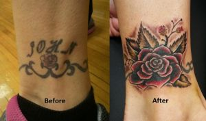 Name Cover-Up tattoo by VanZanto