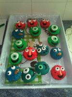 cupcakes mosnters by burdy05