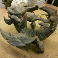 sand king warrior of the red sand wip by The-Exterminator