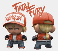 Terry Bogard Munny by 1MFilms