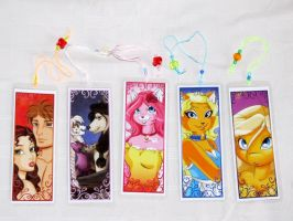 Bookmarks Mini Completed by KittMouri