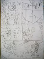 Megaman X6 manga chapter 3 page 7 by BuffaloBorgine