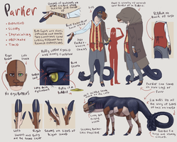 Parker Reference Sheet by DimeSpin