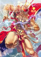 the god of thunder by tegusu