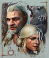 The Witcher 3 by leee666jack
