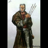Old man Logan by Jefra