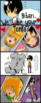 KHR: we'll be your tonfa by nio