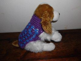 XS Purple blue Dog sweater by Alicia1018