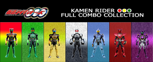 KAMEN RIDER OOO FULL COMBO COLECTION by XMarcoXfansubs