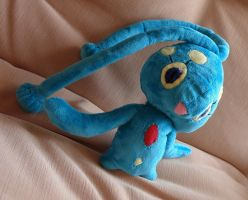 My first plushie: Manaphy - for sale! by MedeiaDesigns