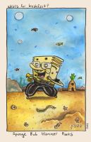 spongebob hammerpants by PattKelley
