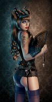 Elisanth by celinart-pinup