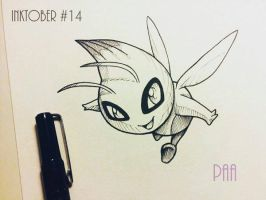 Inktober 2016 - 14 by Paa-H