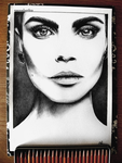 Cara Delevingne by Moonbrethia