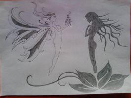 2HB Pencil Drawings by rohit-bodas