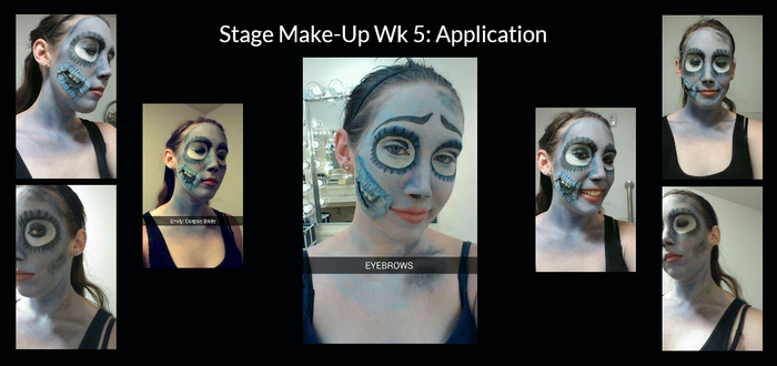 Stage Make-Up Wk 5 by Lady-Ceridwen