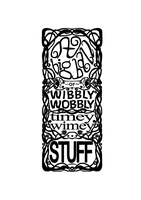 Ornate, 'Timey Wimey' Border and Text by K8Thomas