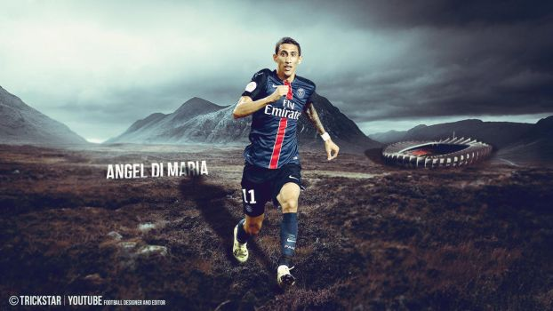 Angel Di Maria - New Challenge |2015/2016| PSG by eL-Kira