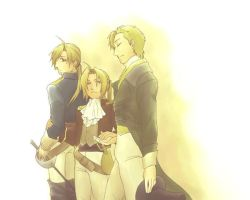 Gentlemen of Three Worlds by hime1999