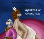 Crossover Masters Matha and Zharty by Dreamer-In-Shadows