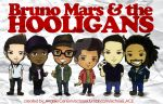 Bruno Mars and the HOOLIGANS by Echosei