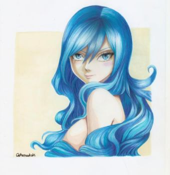 Juvia Lockser by catherineandri