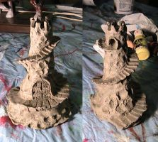 Clay Castle by SMann