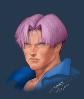 Trunks real portrait by Chenks-R