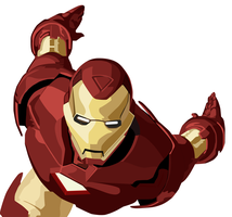 Marvel Ironman WIP-2 by kaizer-phoenix
