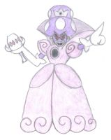 princess shroob hand-drawn by aaronio999