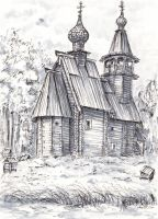 Vsemilostivogo Spasa Church by Lady-DreamArt