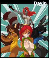 Davin Angels by ChaloDillo