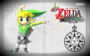 Link Wind Waker HD by Link-LeoB