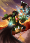 Warcraft Orc by Gotetho