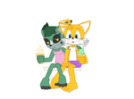 Tails x Cassia Beach date unfinished preview by mepwep